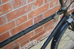 1930s HUMBER SPORTS 21 VINTAGE TOWN/ ROADSTER BICYCLE, WITH DUPLEX FORK