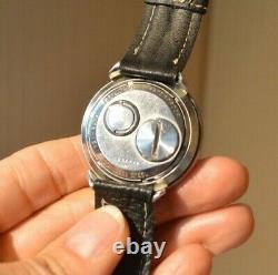 1960'-70'S Bulova Accutron GMT Astronaut 214 Original Dial M8 Tuning Fork Works