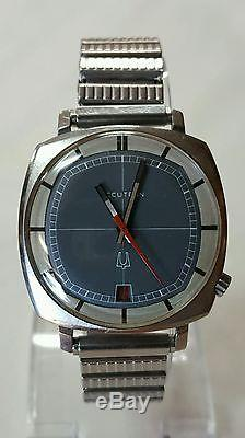 1960's Vintage ACCUTRON By BULOVA Stainless Steel Tuning Fork Watch H882712