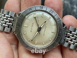 1963 Bulova Accutron Astronaut 214 Original Rare Dial M3 Tuning Fork WORKING