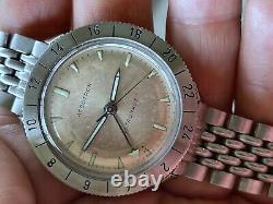 1965 Bulova Accutron Astronaut 214 Original Rare Dial M5 Tuning Fork WORKING