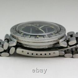 1966 Stainless Steel Bulova Accutron Astronaut 214 M6 Tuning Fork Movement Watch