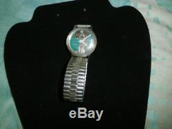 1967 Bulova Accutron 214 Spaceview Stainless Steel Tuning Fork Watch