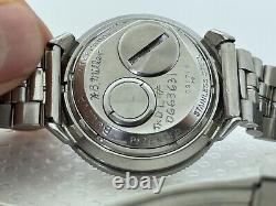 1967 Bulova Accutron GMT Astronaut 214 Original Dial M7 Tuning Fork BOX WORKING