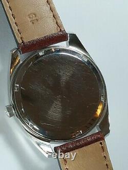 1970 Omega Seamaster f300 Chronometer Ref 198.0001 Mov Electronic Tuning Fork
