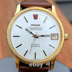 1973 Omega Constellation Chronometer Electronic f300 Hz Cal. 1250 Tuning Fork