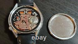 1974 Citizen Hisonic Date 3711A. JDM Tuning fork watch serviced and running