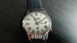 1975 Bulova Accutron 218. Tuning fork watch serviced and running
