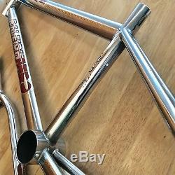 1983 Raleigh Aero Pro Burner Frame & Forks Tange (No. 777) Old School BMX