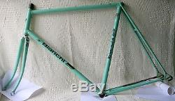 1985 BIANCHI SPECIALISSIMA SL REPARTO CORSE FRAME and FORK 60 cms