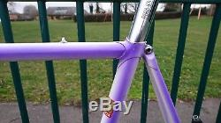 1987 Chas Roberts Frame & Fork 61cm 24 Columbus SLX steel Campagnolo headset