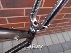 1988 56cm bike frame PLUM roadbike Rigid fork Cr-Mo Campagnolo dropouts