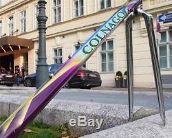 1990s COLNAGO Master Olympic Road Bike Steel Frame + chromed Fork 51.5cm Small