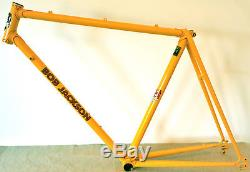 1991 Bob Jackson frame/forks, professional recon by BJ, 21½ (54.6cm) C2T