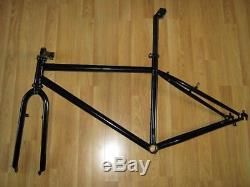 1992 17 Kona Explosif Frame And Project Two Fork Black Powder Coated