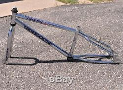 1996 Mongoose Expert Pro BMX Bike Race Bicycle 4130 Chromoly 20.5 Frame & Fork