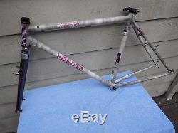 19 Vintage Yokota El Capitan Mountain Bike Frameset Straight Blade Fork EXTRAS