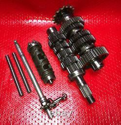 2005 05-06 Kawasaki ZX6R Ninja 636 ZX636 Transmission Gear Drum Fork Ke1