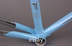 2016 Colnago Arabesque Lugged Steel Road Bike Frameset Fork Blue 56CM MSRP $3799