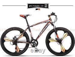26'' Mountain Bike Suspension Forks Bikes Bicycles 21 Speeds Alloy sd04