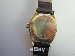 #323 ladys BULOVA accutron tuning fork 1970's watch
