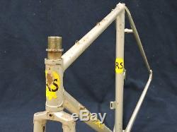 52 cm Survivor Vintage Richard Sachs Signature Frame & Fork Made in the USA