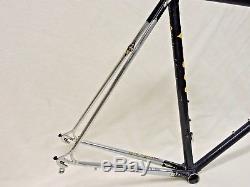 58 cm CIOCC San Cristobal Columbus Frame & Chrome Fork & Stays with Campy Dropouts