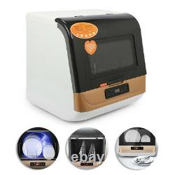 5L Table Dishwasher Small Mini Dishwashing Machine for Forks Spoons Bowls