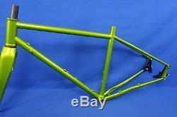 Advocate Cycles Lorax Gravel/CX Steel Bike Frame & Carbon Fork 52cm $1000 Retail