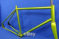 Advocate Cycles Lorax Gravel/CX Steel Bike Frame & Carbon Fork 61cm $1000 Retail
