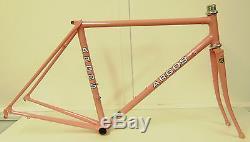 Argos Steel Race Frame & Forks 47cm XS Reynolds 853 (52cm Top Tube) Fantastic