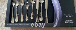 Arthur Price Rattail Cutlery Set, 44 Piece, 18/20 Stainless Steel