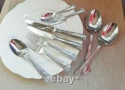 Arthur Price Sovereign Stainless Steel KINGS 43 pieces Up to 6 people VGC