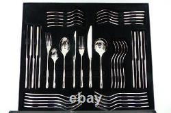 Arthur Price Warwick 42 Piece 18/10 Stainless Steel Cutlery Set