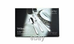 Arthur Price Willow 42 Piece 18/10 Stainless Steel Cutlery Set 50 Year Guarantee