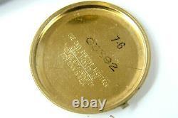 Authentic Vintage Bulova Accutron Mens 15j Tuning Fork Quartz Date Watch N6