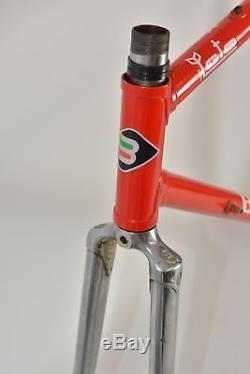 BASSO LOTO road frame and fork! COLUMBUS SLX