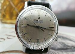 BULOVA ACCUTRON TUNING FORK GENTS VINTAGE WATCH c1970's-STUNNING