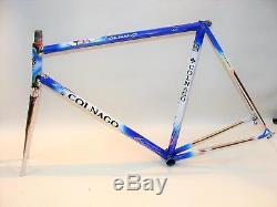 Beautiful Colnago Master Art Decor 56cm Frameset Steel Frame Prescia Fork VGC