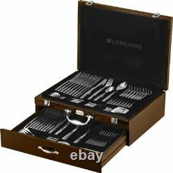 Belleek Living Tidal 72 piece Canteen Cutlery Set