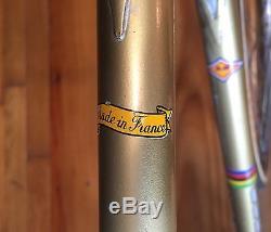 Bertin Track Bike Frame Fork Reynolds 531 Campagnolo Milremo Pantographed Fixed