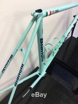 Bianchi Eros Frame And Fork 52 CM Columbus Tubing