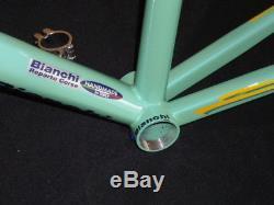 Bianchi Mega Pro XL Frame with carbon fork