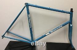 Bianchi Nuovo Alloro Frame And Fork 57 CM Columbus Tubing
