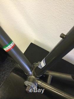 Bianchi San Remo Frame And Fork Superset Tubing Campagnolo Bracket Brakes