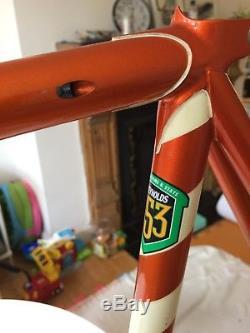 Bob Jackson Olympus Reynolds 853 Frame, 725 Stays, 631 Fork, Size 24.5'', 2012