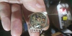 Btg Universal Geneve 15 Jewel Chronometer Unisonic Mens Watch With Toning Fork