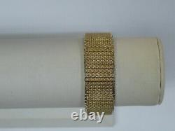Bulova Accutron 14k Gold Filled Men's Tuning Fork Watch