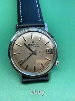 Bulova Accutron 2181 Tuning Fork Vintage Gent's Watch (3)