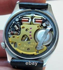 Bulova Accutron 2182 Railroad Approved tuning fork electronic watch